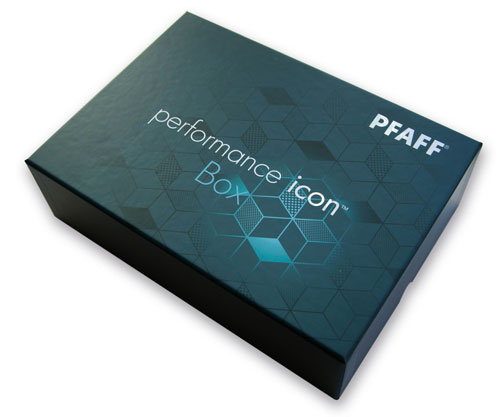 PFAFF performance icon box