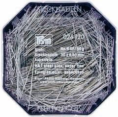 PRYM Stahlstecknadeln 30x0,50mm