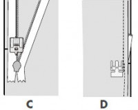 pfaff nahtverdeckter rei verschlussfu die n hmaschinenprofis. Black Bedroom Furniture Sets. Home Design Ideas